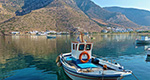Fishing boat in Kamares of Sifnos